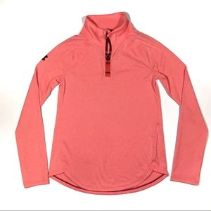 Under Armour Youth 1/4 Zip Pullover Shirt Medium